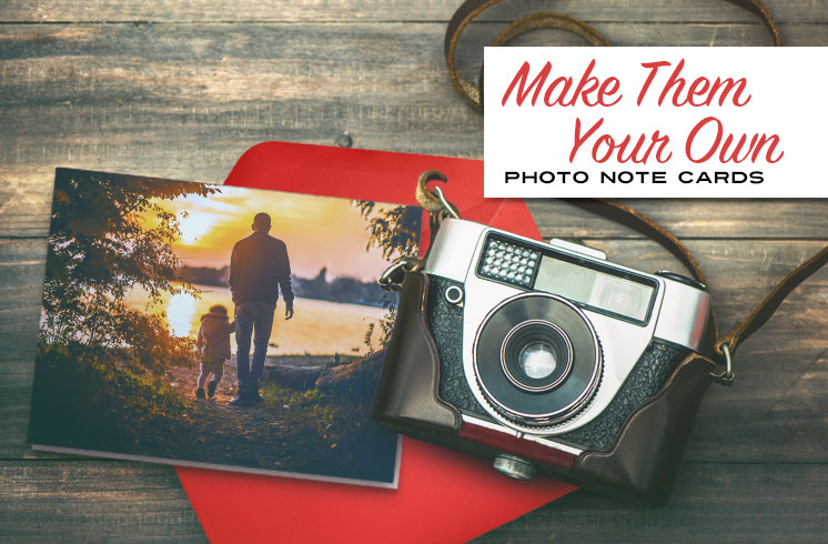 Make your own photo cards